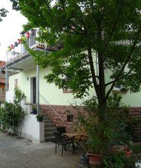 Ansicht des Hauses mit der Ferienwohnung. - Bild 15: Ferienwohnung in Ronneburg / Hessen / Main-Kinzig-Kreis