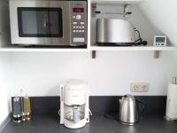 """...hochwertige Küchengeräte - Bild 6: Ferienwohnung """"AussichtsReich"""" - Maisonette für 2-3 Personen und Hund"""