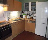 Küche mit Spülmaschine und Dunstabzugshaube - Bild 15: Ferienhaus Waldhäuschen Zandt- Bayerischer Wald