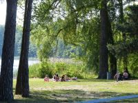 Sonnenbaden. Kostenfreier Zugang. - Bild 12: Ferienhaus im Oderbruch - 2 Schlafzimmer - WLAN - Garten mit Grill
