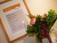 """Unser Ferienhaus """"Neuenhagen"""" ist vom DTV mit 4 Sternen klassifiziert - Bild 6: Ferienhaus im Oderbruch - 2 Schlafzimmer - WLAN - Garten mit Grill"""