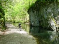 Wanderung durchs Glastal und anschließend zur Friedrichshöhle in Wimsen (einzig mit dem Kahn befahrene Schauhöhle Deuschlands). - Bild 12: Ferienunterkunft für 2 Personen, mittlere Schwäbische Alb, ländlich.