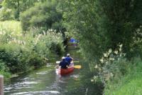 unvergesslich eine Kanutour auf der Lauter oder im Donautal... - Bild 9: Ferienunterkunft für 2 Personen, mittlere Schwäbische Alb, ländlich.