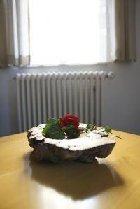 besonders schöne vom Hausherr gedrechselte Holzschale - Bild 9: Ferienunterkunft für 2 Personen, mittlere Schwäbische Alb, ländlich.
