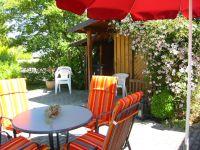 Gartenhaus und Gartenterrasse - Bild 15: Ferienwohnung nördlicher Bodensee
