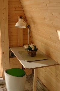 """Bild 3: Ferienhaus - Camping Pod 2 """"Wengertshäusle"""" auf dem Burgstallhof"""