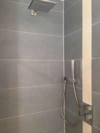 die Dusche - Bild 6: Ferienwohnung Würzburg, hochwertig eingerichtet für bis zu 6 Personen