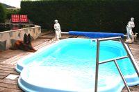 Bild 18: Ferienhaus Gabriela mit eingezäunten Garten und privatem Swimmingpool