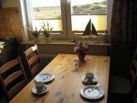 Schon beim Frühstück schauen Sie auf das Wattenmeer oder am Abend auf den strahlenden Leuchtturm - Bild 3: Wohnung Füürtoorn Leuchtturm-Restaurant Norderney