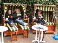 gemütlich auch bei kühlem Wetter - Bild 9: Wohnung Wittdün Leuchtturm-Restaurant Norderney