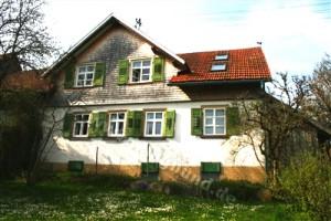 Haus Sonnenwinkel im Schwarzwald mit eingezäunten Garten