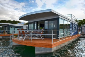 Hausboot Leipziger Seenland (Festanlieger)