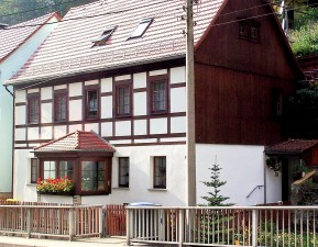 Neue Ferienwohnung in unserem Fachwerkhaus in Bad Schandau