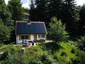 Ferienhaus Chalet Bergweide, am Nationalpark, Alleinnutzung, Hund möglich