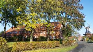 Ferienwohnung Mühlenblick im Fischerdorf Ditzum
