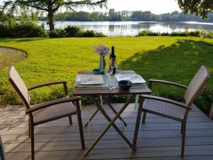 Ferienwohnung am See in Oberbayern