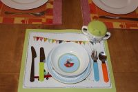 Die Küche umfasst auch Kinderbesteck - Bild 12: Ferienwohnung auf der Sonneninsel Usedom (Dreikaiserbad Bansin)